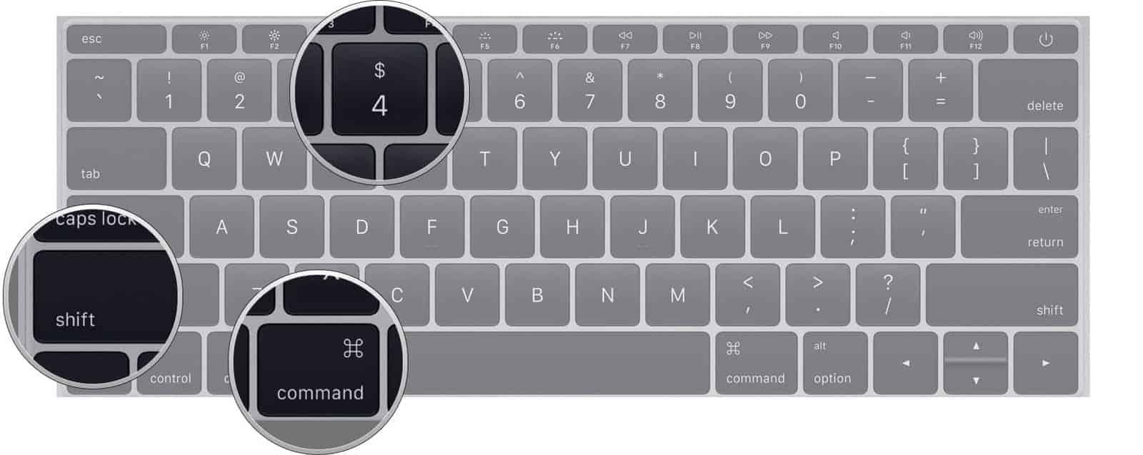 Macde ekran goruntusu alma - belirli bir alan